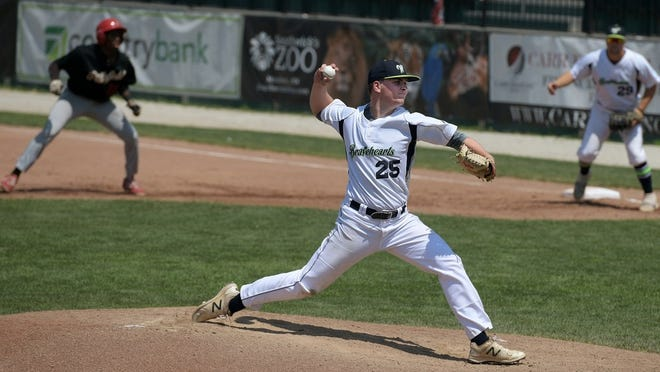 Bravehearts starter Jack Steele pitched six impressive innings in a 2-0 win at Westfield.