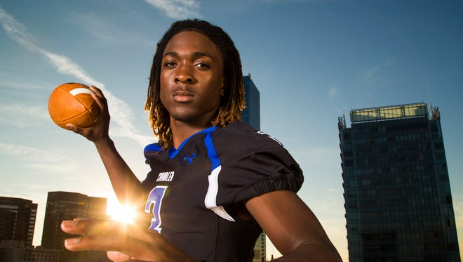 Chandler's Bryce Perkins was selected as the All-Division 1 Player of the Year.