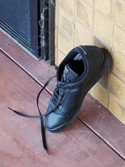 The mystery shoe.