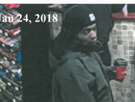 York City Police are searching for a man who they say