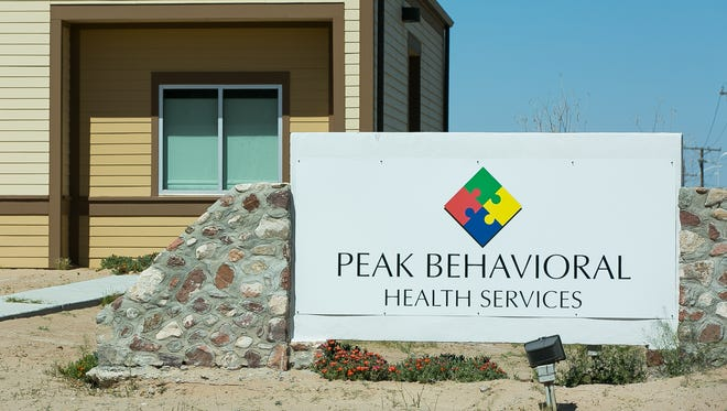 Pictured is the Peak Behavioral Health Services facility located at 5055 McNutt Road in Santa Teresa, New Mexico.