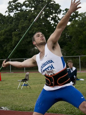 Louisiana Tech javelin thrower Noah Riché died in a car accident Friday on his way back from Camp Ozark in Arkansas.