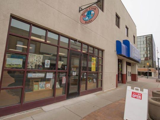 Battle Creek Books on West Michigan Avenue in downtown Battle Creek.