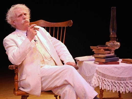"""Ron Jewell's """"Mark Twain At Large,"""" will be at The Ned in March."""