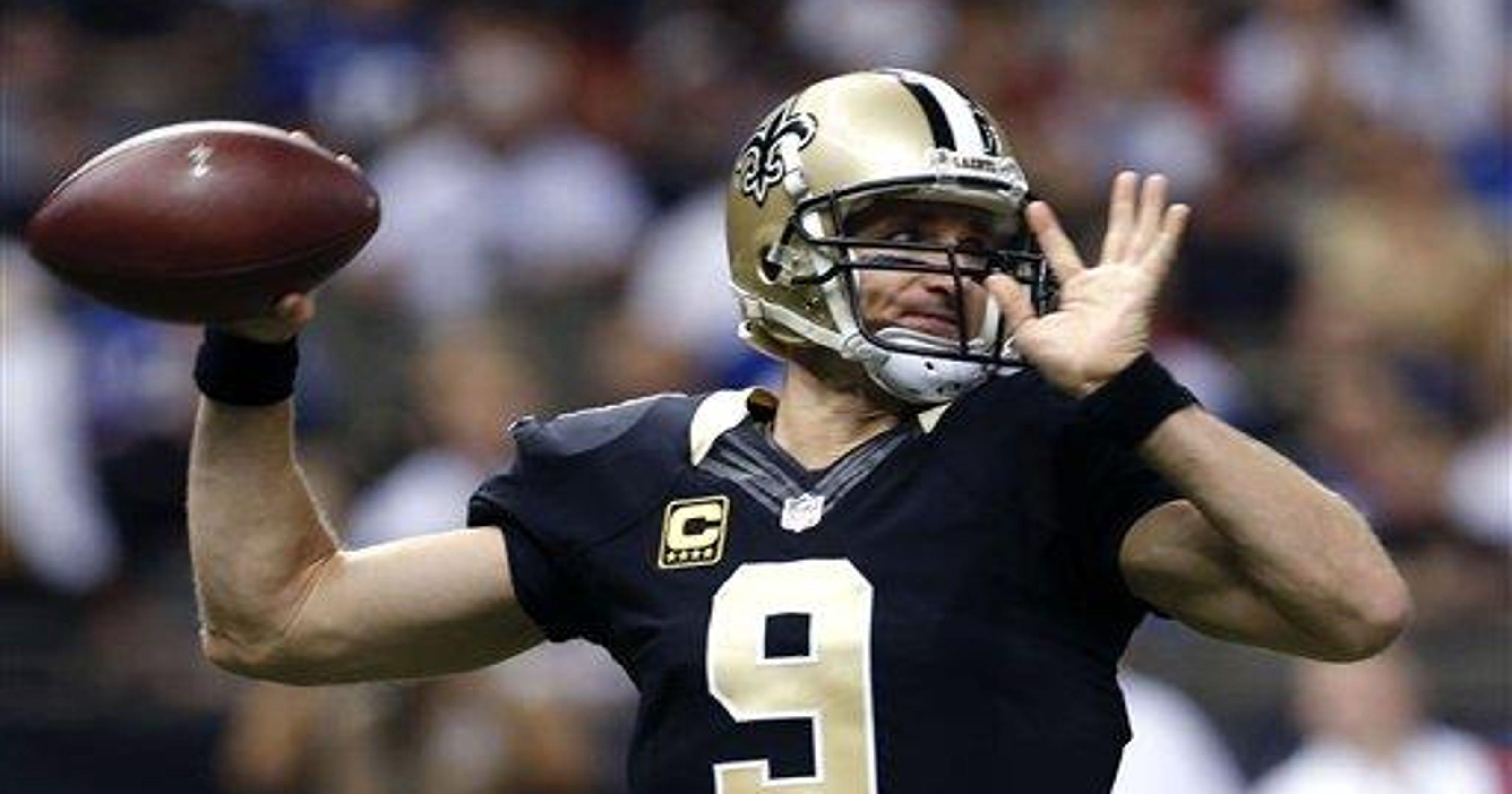 Brees  7 TDs help Saints top Giants d22220fd1