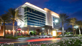 Aliante Casino + Hotel is in North Las Vegas set apart from the Strip.