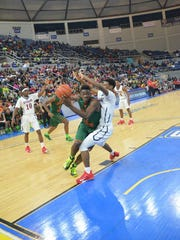 Last season, Adrio Bailey (2) averaged 15 points, 10 rebounds four assists, three steals and 2.3 blocks per game.