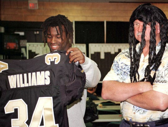 Ricky Williams and Mike Ditka lasted just one season