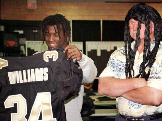 Ricky Williams and Mike Ditka lasted just one season together in New Orleans.