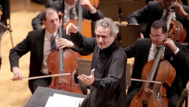 CSO music director Louis Langrée