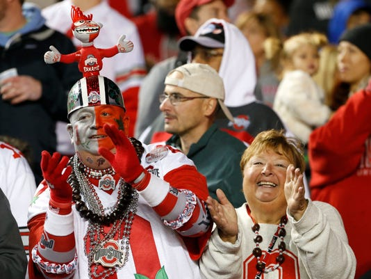 NCAA Football: Ohio State at Rutgers