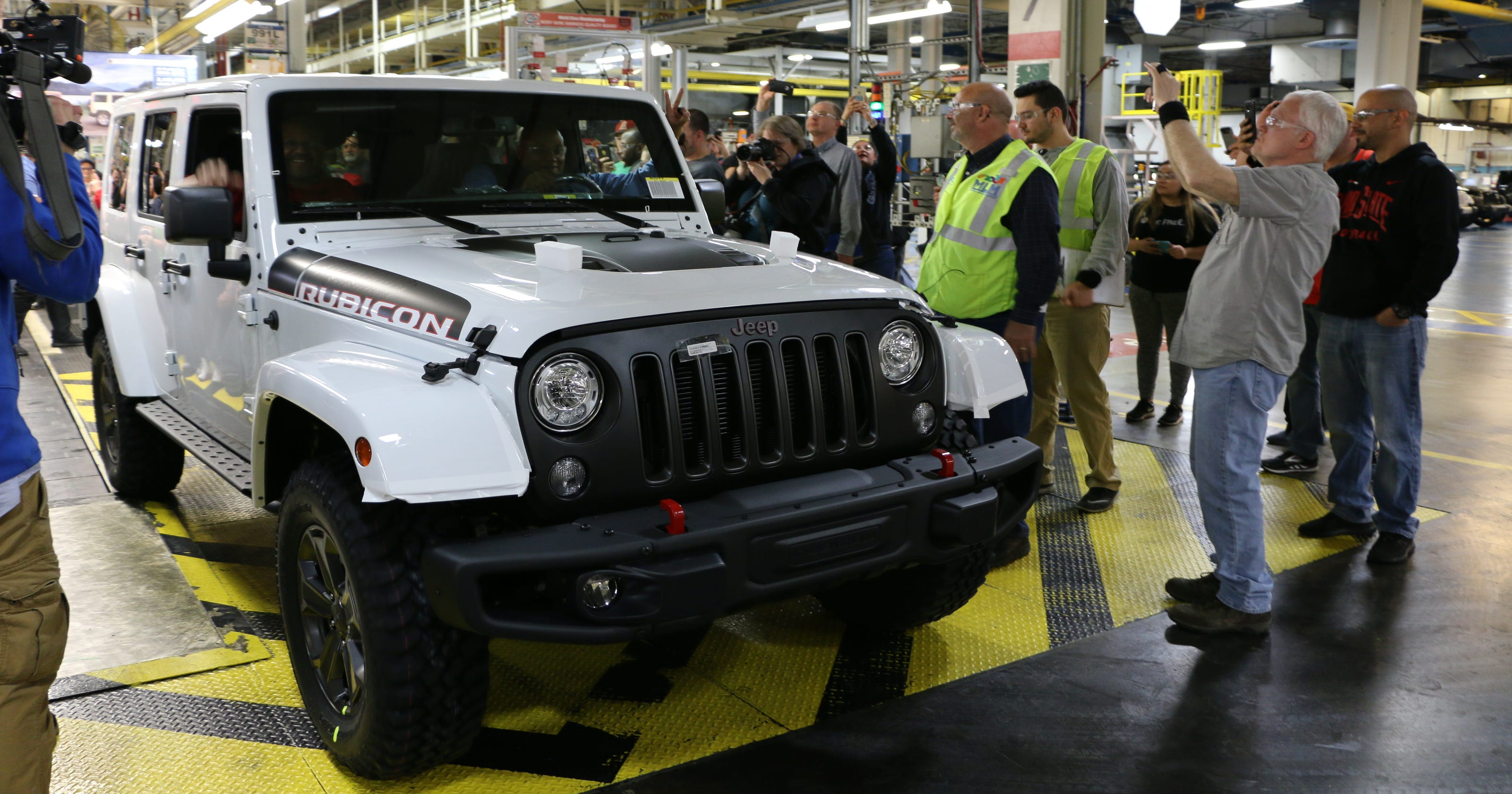 Production Ends For Jeep Wrangler Jk Computer