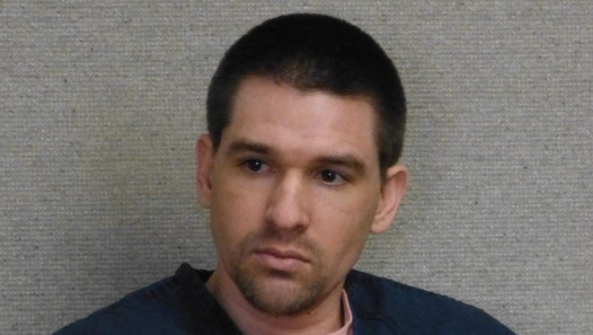 Joshua Edward Hoffman is shown in Superior Court during one of his earlier appearances there.