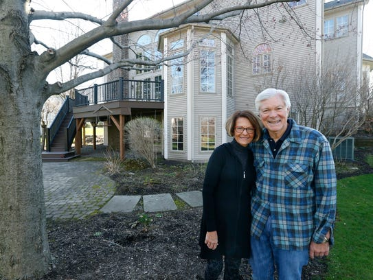 Don and Mary Alhart are downsizing and moving out of