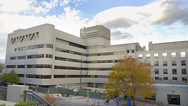 RGJ file File photo of Saint Mary's Regional Medical Center in downtown Reno.