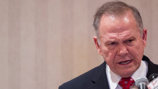 Alabama Republican Senate nominee Roy Moore