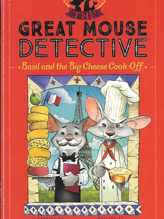 The Great Mouse Detective Basil and the Big Cheese Cook Off