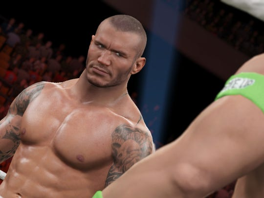 Facial modeling is greatly improved for many wrestlers in WWE 2K15 thanks to facial scanning.
