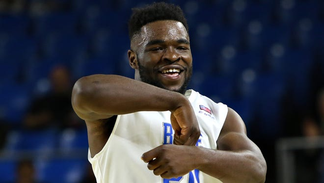 MTSU's Giddy Potts (20) looks to build off a successful sophomore season.