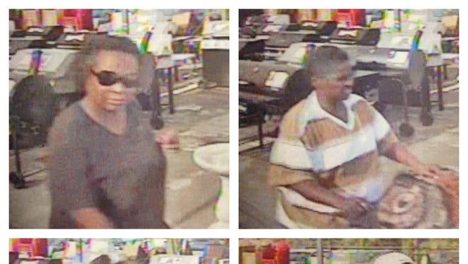 The four suspects in a July air conditioner robbery