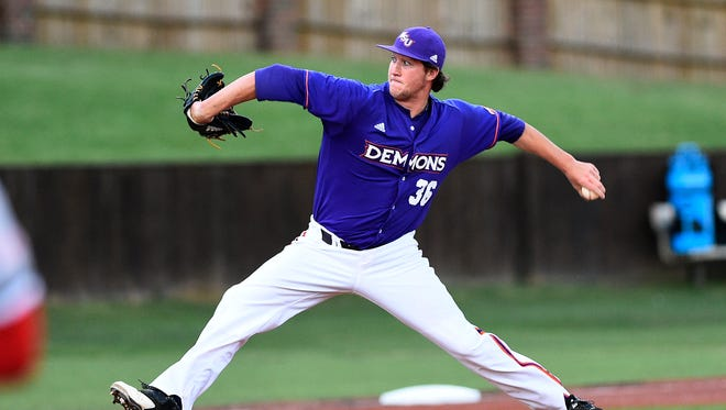 Devin Bear is among the Houston-area players for Northwestern State.