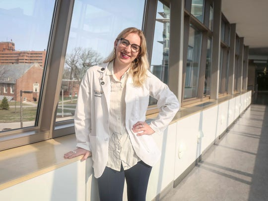 Sarah Ziegenhorn, a medical student at the University