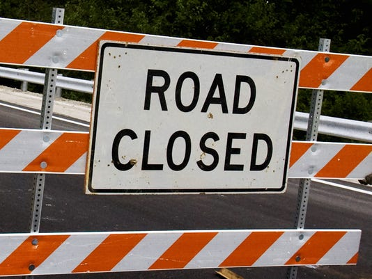 Road Closed in Batavia