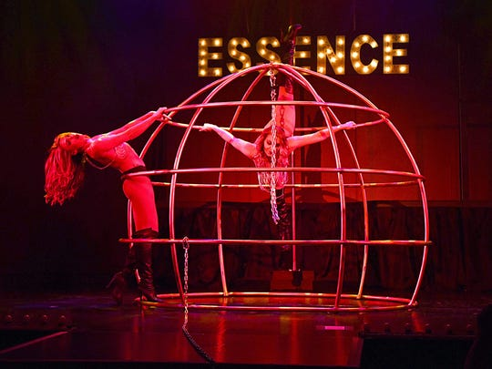 A scene from Essence on stage at Harrah's Reno.