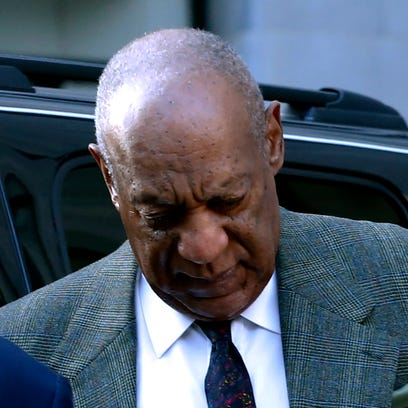 Bill Cosbyat the Montgomery County courthouse for pretrial