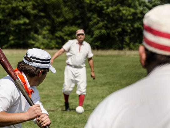 The annual Havel Hill Festival includes a vintage baseball