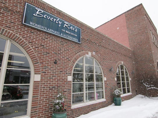 Beverly Rae's, a women's clothing store, occupies 306