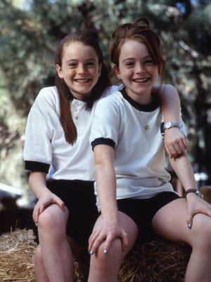 "Lindsay Lohan and Lindsay Lohan star in 1998's ""The Parent Trap."""