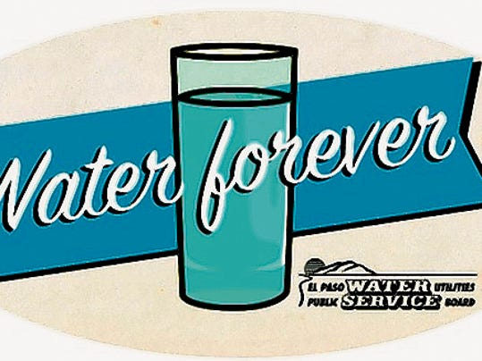 "This ""Water Forever"" logo is shown at the end of a new El Paso Water Utilities TV commercial, which cost the utility 153,614 to have produced and aired for eight weeks. It also has another 60,000 budgeted to air the commercial again in the fall."
