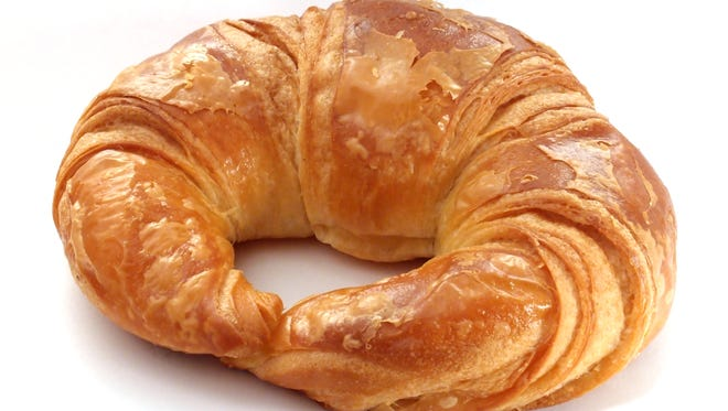The croissant first began being served in France in the mid-1800s.