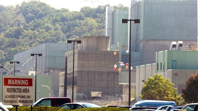 A couple was charged with gaining access to the Peach Bottom Atomic Power Station on Friday, police said.