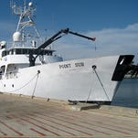 The Point Sur research vessel will provide valuable assistance to scientists at The University of Southern Mississippi.