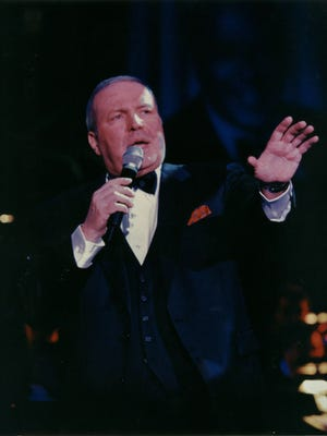 Frank Sinatra Jr. pays tribute to his father with a show that's part concert, part theater, part musical biography.