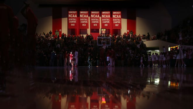 Fred Glass says he is working on beefing up IU's home pre-conference hoops schedule.