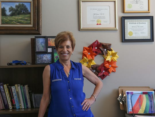 Dr. Jill Gover of the LGBT Center in Palm Springs,