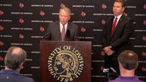 Rather than fight NCAA sanctions, Louisville takes responsibility and accepts the penalties.