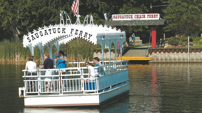 The Saugatuck Chain Ferry has begun operating for the summer season.