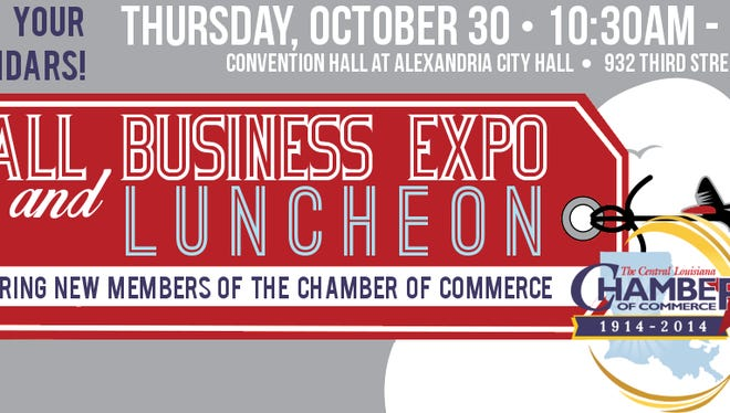 Rep. Lance Harris, R-Alexandria, will be the featured speaker at the Fall Business Expo and Luncheon.