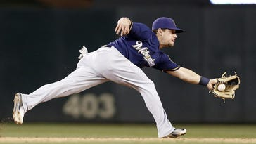 "As much as the Brewers have shifted their infielders this year, Scooter Gennett has sometimes played on the left side of second base. Said Gennett: ""Lately, I feel like I'm more of a shortstop than a second baseman,"""