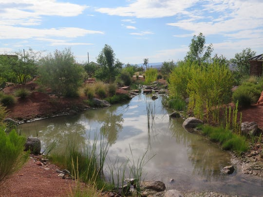 A look at the Red Hills Desert Garden area of Pioneer Park in St. George.
