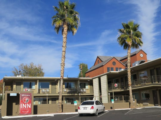 The Inn at St. George, a hotel located at 60 W. St. George Boulevard, is the latest property purchased by the city as part of larger plan for downtown redevelopment.