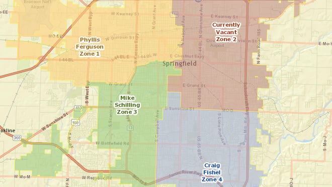 The deadline for applying for the vacant seat was Friday at 5 p.m. and eight Springfield residents are interested in filling the position to represent Zone 2, a news release said.
