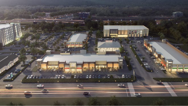 A rendering of the Market Square redevelopment.