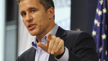 Former Gov. Eric Greitens and some of his staff had Confide accounts connected to their personal cellphones, The Kansas City Star reported.