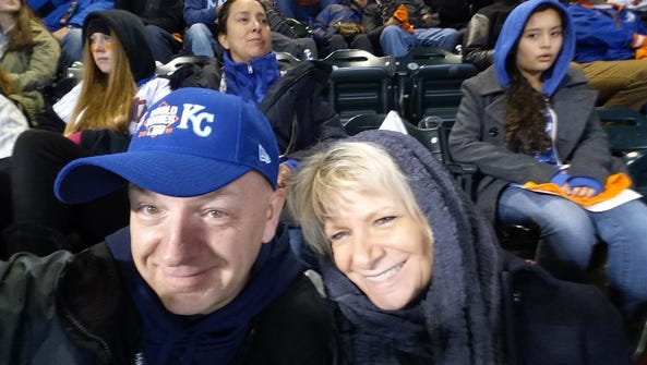 Mike Snider and Julie Snider on Oct. 30, 2015, in Citi