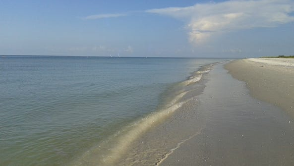 Tigertail Beach Spit as photographed during last week's